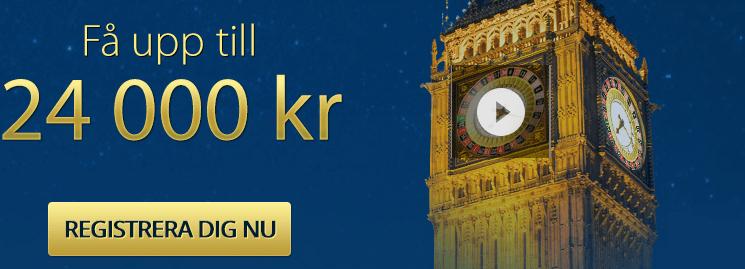 Svenska Casino | 4.000 kr VÄLKOMSTBONUS | Casino.com