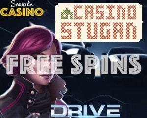 casinostugan drive freespins