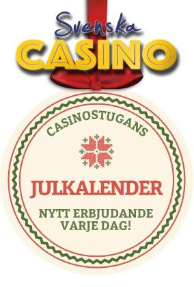 casinostugan lucka 21 julkalender