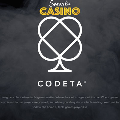 codeta svenska casino