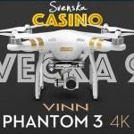 dji phantom 3 4k drönare svenska casino