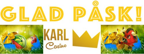 karl casino glad påsk free spins