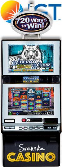 siberian storm igt svenska casino