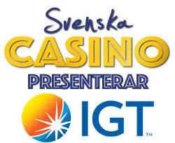 spelleverantör igt svenska casino