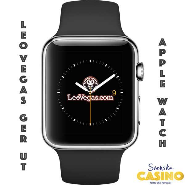 apple watch leo vegas svenska casino på nätet