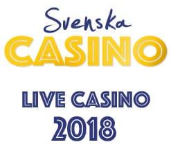 svenska live casino 2018