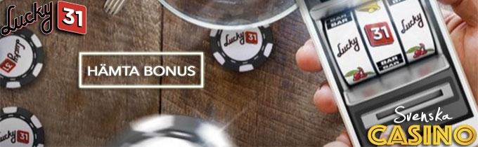 lucky31 casino svenska casino bonus free spins