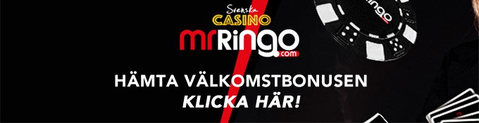 mr ringo svenska casino