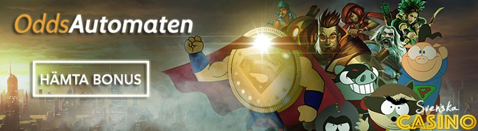 oddsautomaten svenska casino bonus free spins