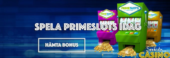 primeslots svenska casino bonus free spins