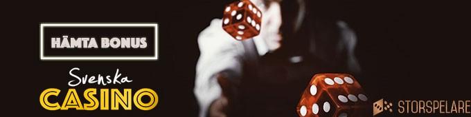 storspelare bonus svenska casino