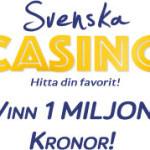 1 miljon svenska casino