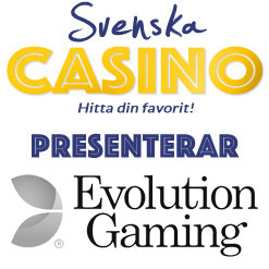 svenska casino evolution gaming logo