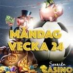 vecka 24 svenska casino fotboll em bonus free spins