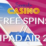 svenska casino free spins ipad air 2
