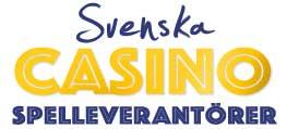 spelleverantörer svenska casino