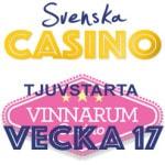 vecka 17 2016 vinnarum svenska casino