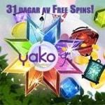 svenska casino yako 31 free spins