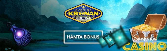 sverigekronan bonus free spins svenska casino