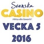 vecka 5 svenska casino