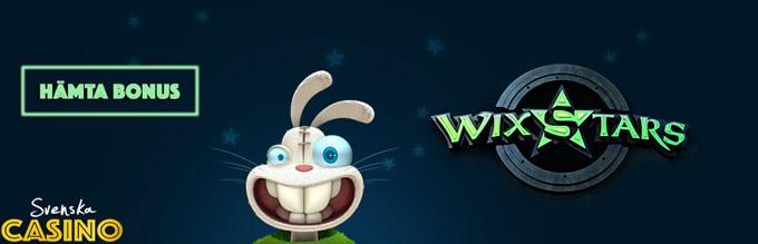 wixstars casino svenska casino unik bonus free spins