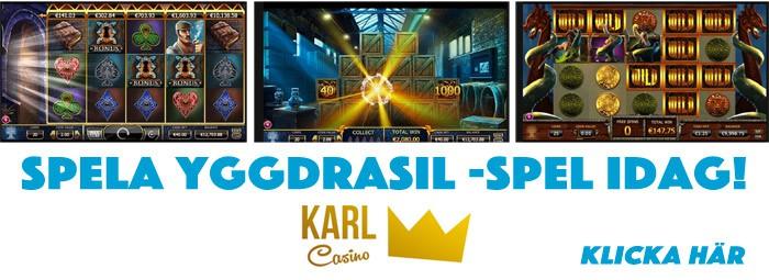 yggdrasil gaming spel